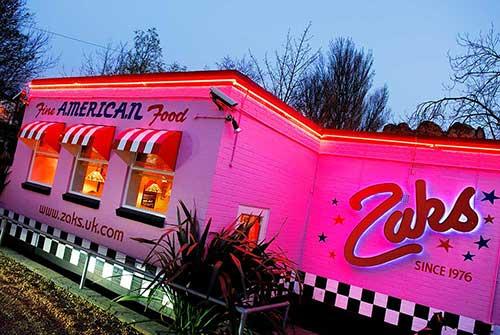 Zaks Waterside Grill & Bar Diner