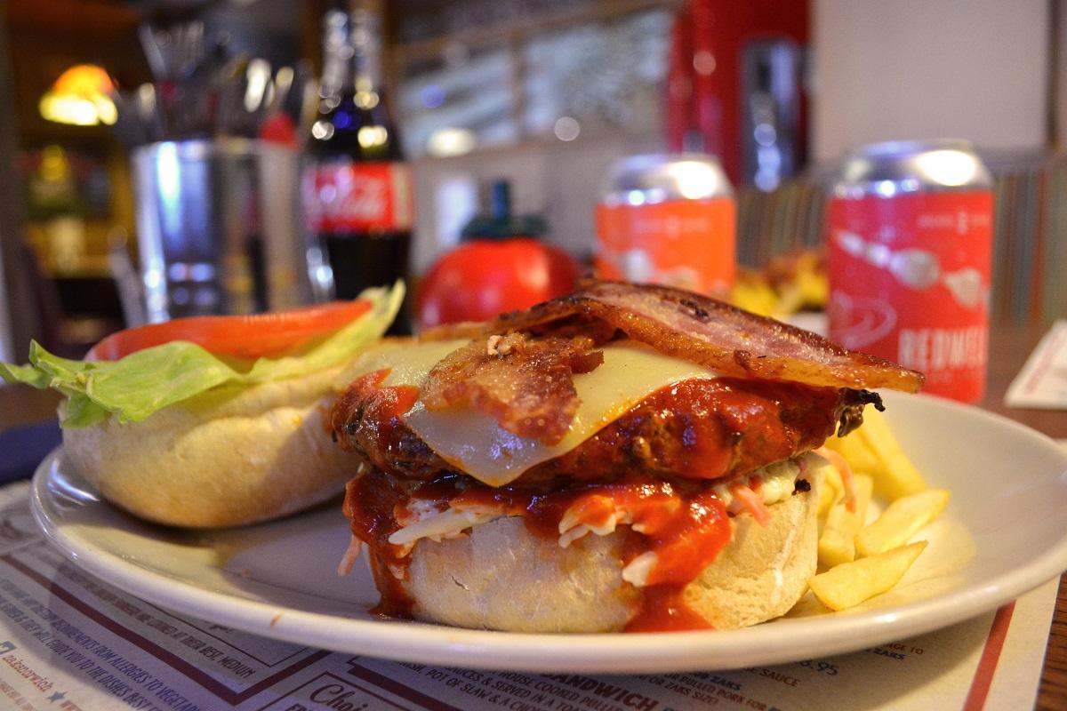 Zaks American Diners Brooklyn Burger