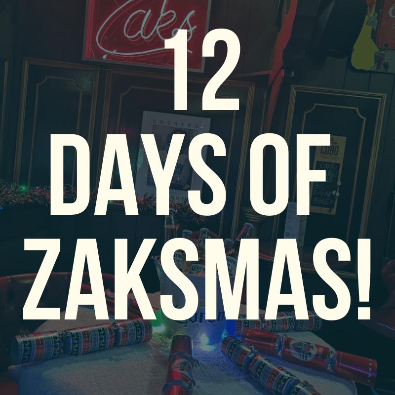 12 Days of Zaks