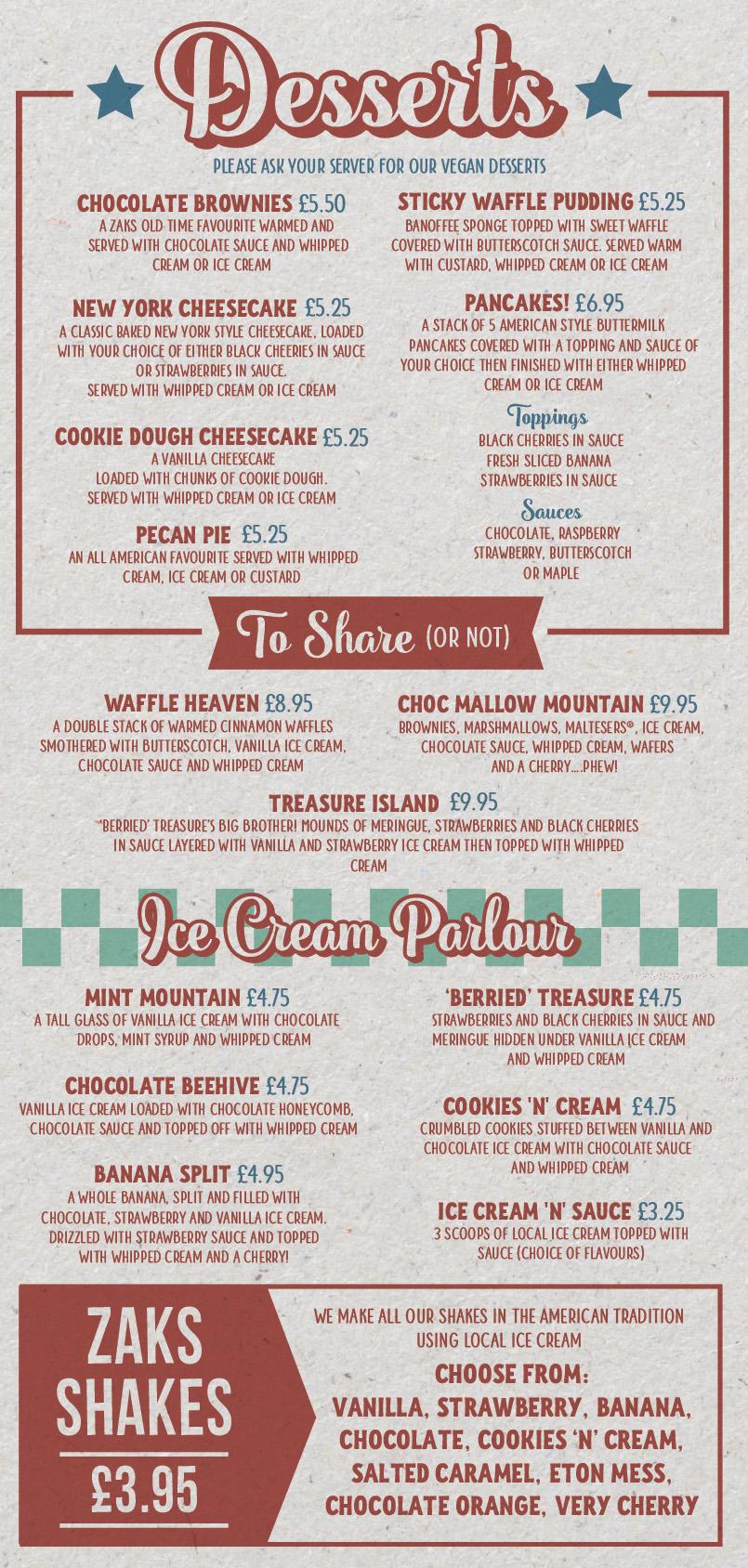 Shakes & Ice Cream Parlour