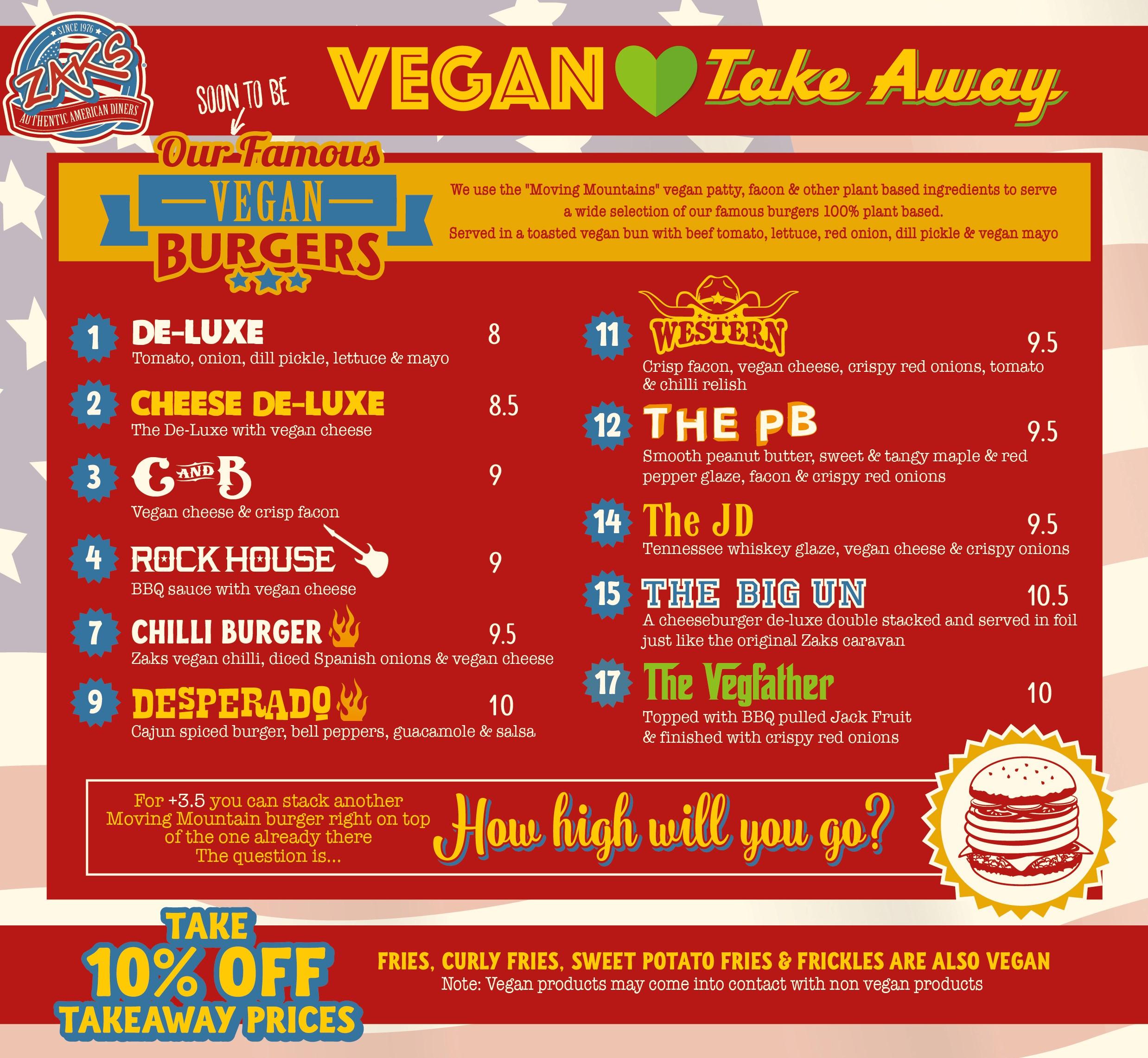 Vegan Takeaway
